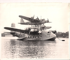 Aviation - Hydravion Short-Mayo Composite - 1937 - Aviation