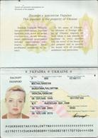 Ukraine 2005 Foreign Passport Passeport Reisepass Perfect Conditions - Historical Documents