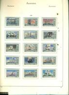 ASCENSION SERIE COURANTE BATEAUX DE LA ROYAL NAVY 15 VAL NEUFS A PARTIR DE 2.50 EUROS - Ascension (Ile De L')