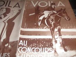 VOILA 34/ CONCOURS HIPPIQUE/JEAN EFFEL /GALMOT/DIABLE EN ESPAGNE /TITAYNA BORNEO / FEMMES AFFRANCHIES - Livres, BD, Revues