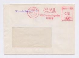 DDR Cover AFS - LEIPZIG, CAL VEB Chemieanlagenbau 1984 - DDR