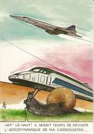 "Carte Postale Humoristique ""Concorde"" - Andere"