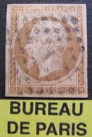"""R1606/34 - NAPOLEON III N°13A - BUREAU """" A """" De PARIS - 1853-1860 Napoléon III"""