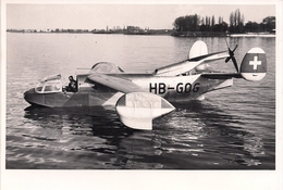 Aviation - Hydravion Dornier Do-212 - Altenrhein - 1938 - Aviation