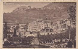Montreux, Le Débarcadère Et Village De Chernex (pk53446) - Switzerland