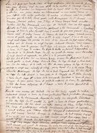 L'an 1733 Eaux Et Forets Maitrise De Commenge St Gaudens Procés Verbal D'Amenagement Avec Plan ESCANECABRE 4 Scans - Manuscrits