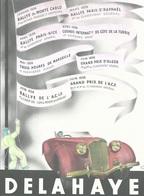 Publicité DALAHAYE Automobile Traction Vainqueur MONTE CARLO TURBIE NICE ALGER MARSEILLE SAINT RAPHELCertifié époque1936 - Affiches