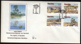 Namibia Keetmanshoop 1990 / Sights Of Namibia / FDC - Namibie (1990- ...)
