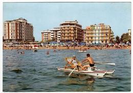 LIDO DI JESOLO - ALBERGHI VISTI DAL MARE - VENEZIA - Venezia