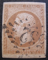 R1606/37 - NAPOLEON III N°13B - LOSANGE GROS CHIFFRES 532 : BORDEAUX - 1853-1860 Napoléon III