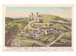 0-5631 HANSTEIN, Ruine Des Schlosses Hanstein, Historische Ansicht V. 1839 - Heiligenstadt
