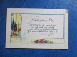 CPA FANTAISIE THANKSGIVING DAY - Thanksgiving