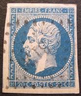 R1606/38 - NAPOLEON III N°14A - LUXE - PC 3176 : SAINT-MALO (Ille Et Vilaine) - 2 VOISINS - 1853-1860 Napoléon III