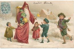 PERE NOEL, Enfants - A.& M. B - Santa Claus