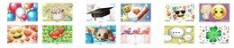 France, Emoji, Superb Booklet Of 12, 2018, MNH VF - France