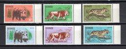 GUINEE N° 105 à 110  NEUFS SANS CHARNIERE COTE 9.00€  ANIMAUX - Guinée (1958-...)