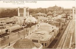 CPA EXPOSITION DES ARTS DECORATIFS. PARIS 1925. VUE GENERALE - Ausstellungen