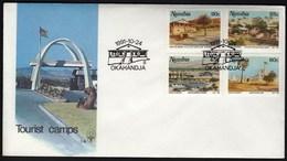 Namibia Okahandja 1991 / Tourist Camps /  / FDC - Namibie (1990- ...)
