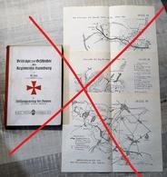 (Oise) Noyon - 60 - Livre : Beiträge Zur Gefchichte Des Regiments Hambourg, Stellungskrieg Bei Noyon 1914-1918 (1925) - Livres