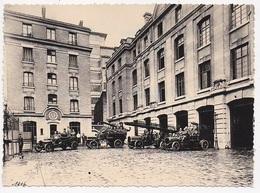 PHOTO 75 PARIS 9 Eme SAPEURS POMPIERS En Souvenir De La Caserne Blanche En 1916 Depart Au Feu - Firemen