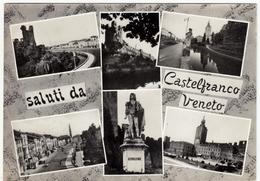 SALUTI DA CASTELFRANCO VENETO - TREVISO - 1966 - Treviso