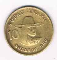 10 SOLES 1979 PERU /8777/ - Pérou