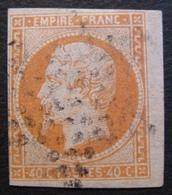 R1606/40 - NAPOLEON III N°16b BdF - ETOILE De PARIS - 1853-1860 Napoléon III