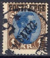 DANEMARK ! Timbre Ancien SURCHARGE De 1921 N°152 - Oblitérés