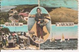 L10K_98 - Souvenir Du Bassin D'Arcachon - Carte Multi-vues - Arcachon