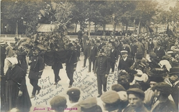 TOP 550 CPA  CARTE PHOTO  1907 Révolte Des Vignerons  à NARBONNE  Il Y Eut Des Victimes De La Fusillade  Belle Carte - Narbonne