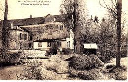 77 . Seine Et Marne .  Combs La Ville .  L 'yerres Au Moulin Du Breuil . - Combs La Ville