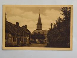 C.P.A. : 14 Eglise De TOURGEVILLE Et Vieille Maison Normande - France
