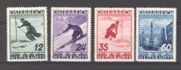 06932  - Polynésie  :  Yv  477-80  *   Ski - 1918-1945 1ère République