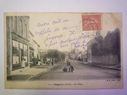 GLAGEON  (Nord)  :  La Place   XXX - Autres Communes