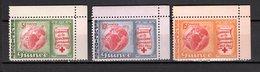 GUINEE N° 168 à 170  NEUFS SANS CHARNIERE COTE 1.20€  CROIX ROUGE - Guinée (1958-...)