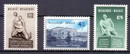 860/862 Breendonk  ONGESTEMPELD MET SCHARNIER* 1951 Cat: 38 Euro - Ongebruikt