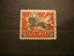 Horses # Lietuva Lithuania Litauen Lituanie Litouwen # 1921 Used # Mi. 101 - Lituanie