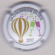 Capsule Champagne CHAMPAGNE EN FETE ( 1 , GRAUVES Et MANCY , 1ère édition 2017 ) {S51-18} - Champagne