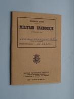 Militair ZAKBOEKJE + I.D. + Allerlei Dokumenten ( éénzelfde Persoon / Van Den Branden ) Anno 1958 ( Zie Foto's ) ! - Documents