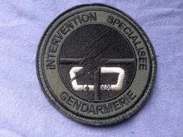 Écusson Gendarmerie Intervention Spécialisée N°1 - Ecussons Tissu