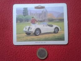 POSAVASOS COASTER MAT CARD O SIMIL CASTELLA PANATELLA CIGARS COCHE CAR AUTO VOITURE JAGUAR XK 120 COCHES CARS VER FOTO/S - Portavasos