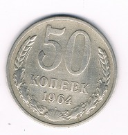50 KOPEKS 1964 CCCP  RUSLAND /8787/ - Russie