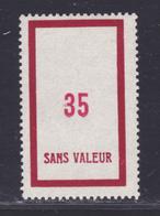 FRANCE FICTIF N° F133 ** MNH Neuf Sans Charnière, TB - Phantomausgaben