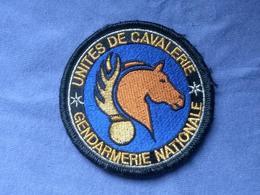 Écusson Gendarmerie Cavalerie 3 - Ecussons Tissu