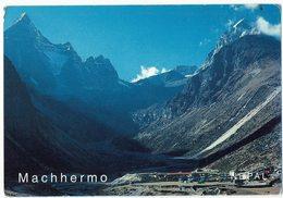 (032..170) Nepal, Machhermo Village - Nepal