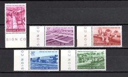 GUINEE N° 190 à 194  NEUFS SANS CHARNIERE COTE 2.50€  ADDUCTION D'EAUX  CAMION - Guinée (1958-...)