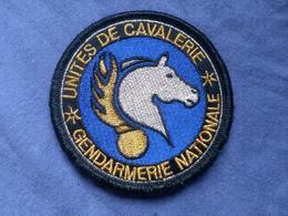 Écusson Gendarmerie Cavalerie 4 - Ecussons Tissu