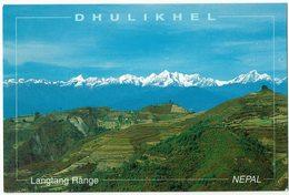 (032..171) Nepal, Langtan Range From Dhulikhel, Kathmandu - Nepal