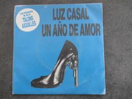 ♫ 45T SP Musique De Film TALON AIGUILLE -LUZ CASAL -UN ANO DE AMOR- ISLAND ♫ - Soundtracks, Film Music