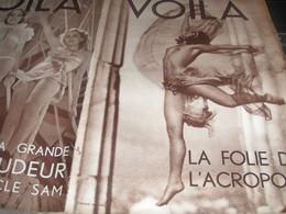 VOILA 34/SAINTES MARIES MER /PROCES FUSILLES  POUR L EXEMPLE 14/GRECE/CHAPLIN INTIME /TOULON BAR MARINS - Livres, BD, Revues